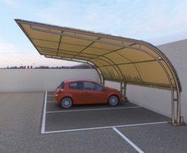 SESTO FIORENTINO-Campo sportivo posti auto coperti e scoperti.