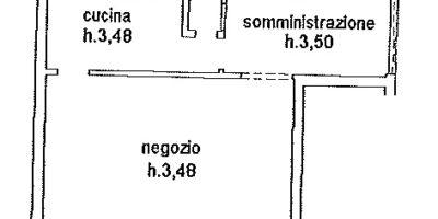 CAMPI BISENZIO -Negozio/magazzino cat c/1.