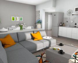CALENZANO -Appartamento di 5 vani con giardino.