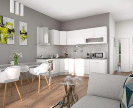 PRATO-CHIESANUOVA Appartamento di nuova costruzione con giardino.